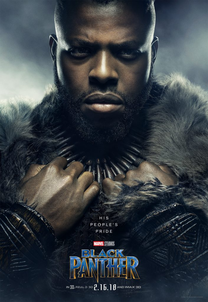 Who is Winston Duke in Black Panther | Black Panther Poster