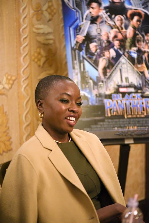 Danai + Lupita Exclusive Interview- Women of Black Panther