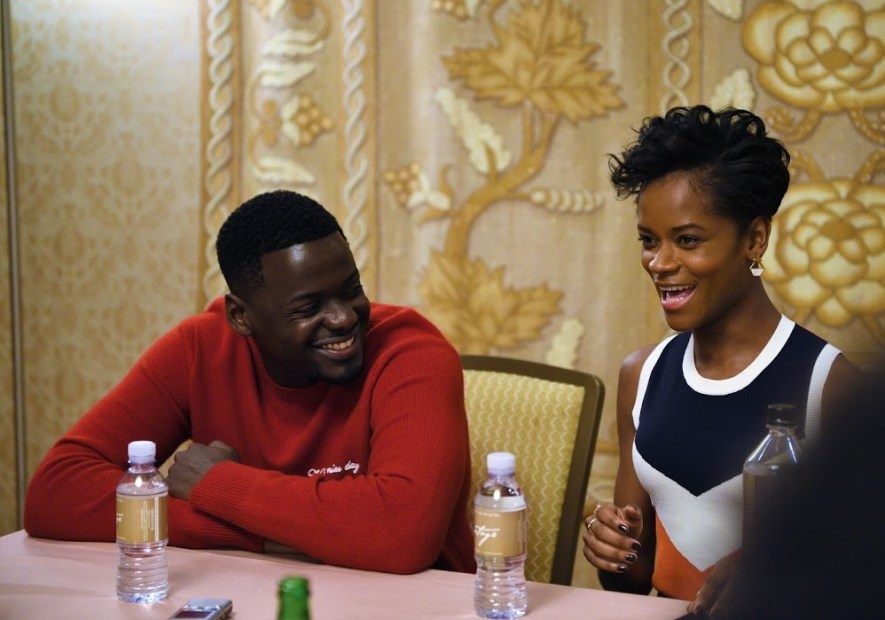 Interview with Daniel and Letitia Black Panther Cast