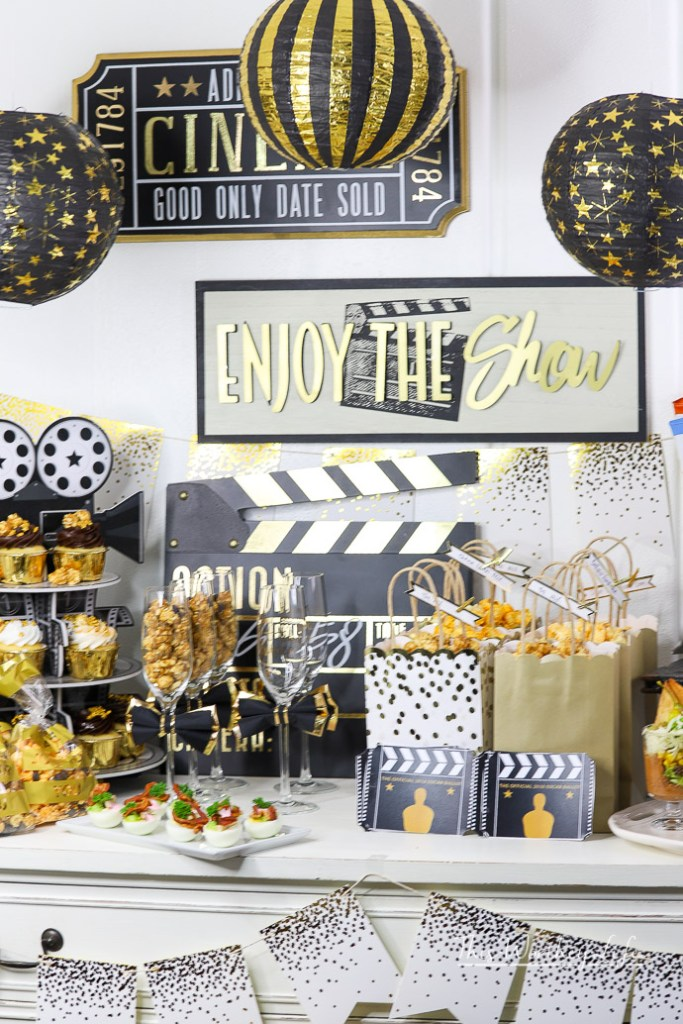 Quick Oscar Party Ideas