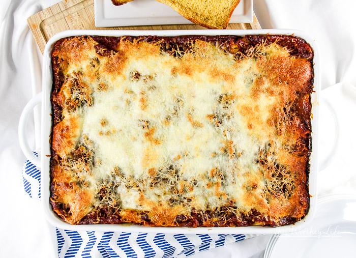 The Best Homemade Lasagna