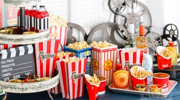 Movie Night Drive-in Party Idea