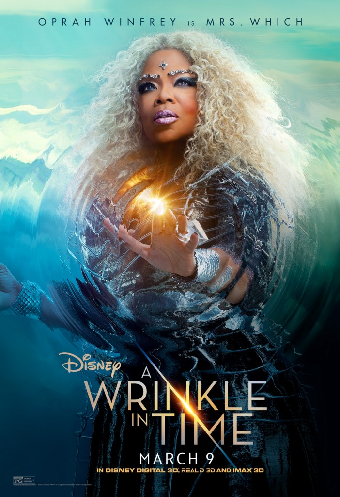 A Wrinkle In Time Poster- Oprah Winfrey
