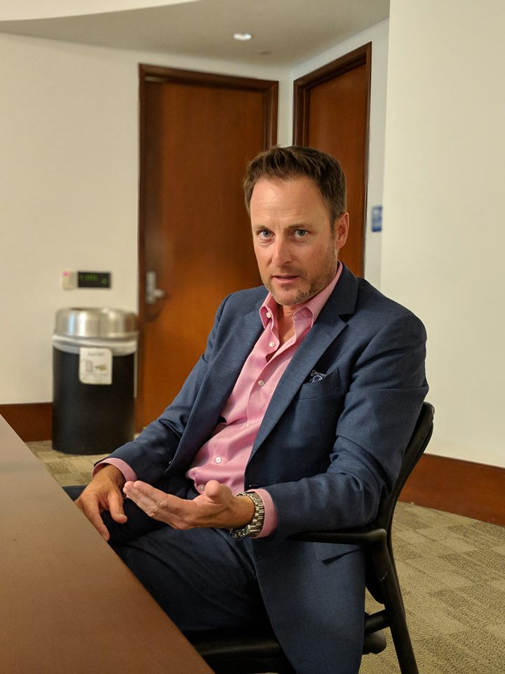 Interview with Chris Harrison The Bachelor