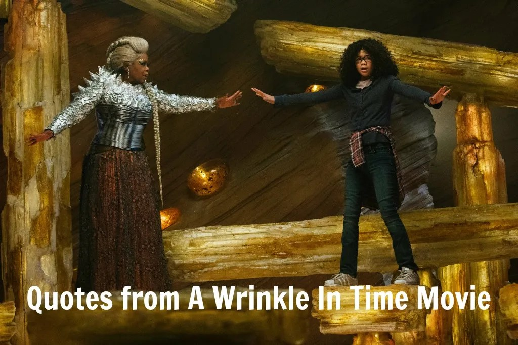 A Wrinkle In Time Quotes Quotes From A Wrinkle In Time Movie