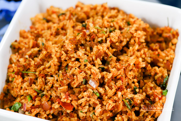 How to make Mexican Chorizo Rice in the Instant Pot