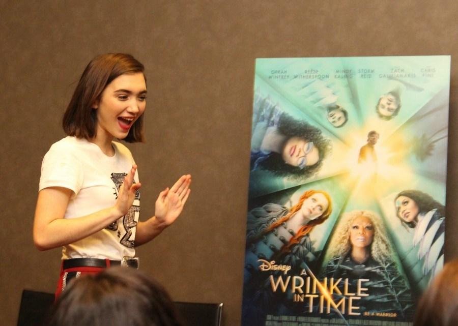 Interviewing Rowan Blanchard Disney Wrinkle In Time