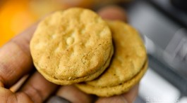How to make Peanut Butter Breakfast Cereal Cookie Shake using Girl Scout Do-si-dos cookies