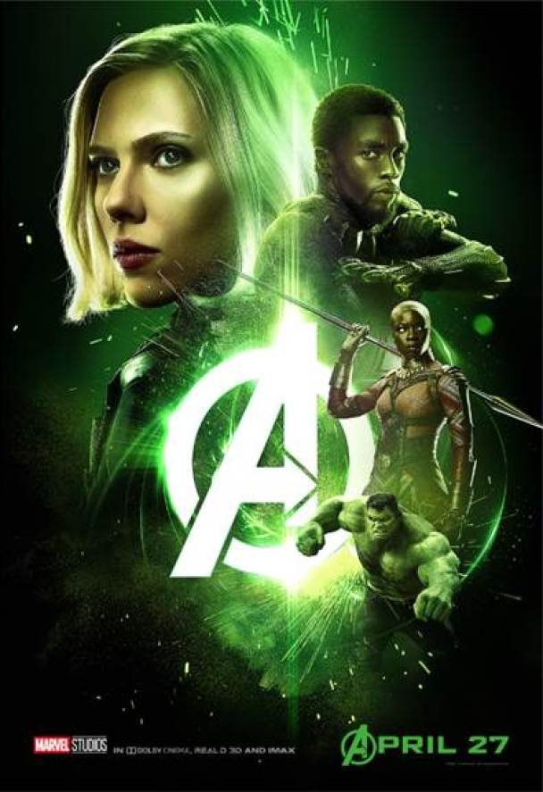 Team Black Panther Avengers Infinity War