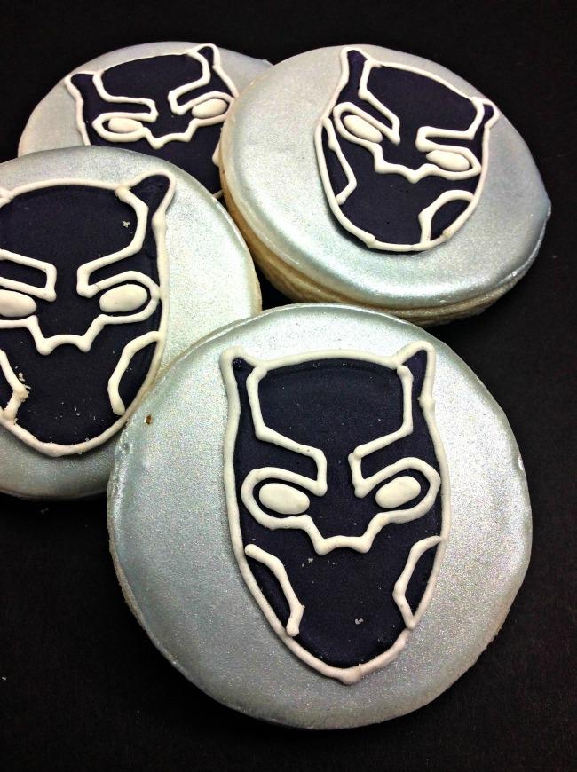 Black Panther Cookies