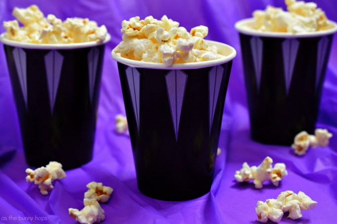 Black Panther Craft- Black Panther Snack Cups