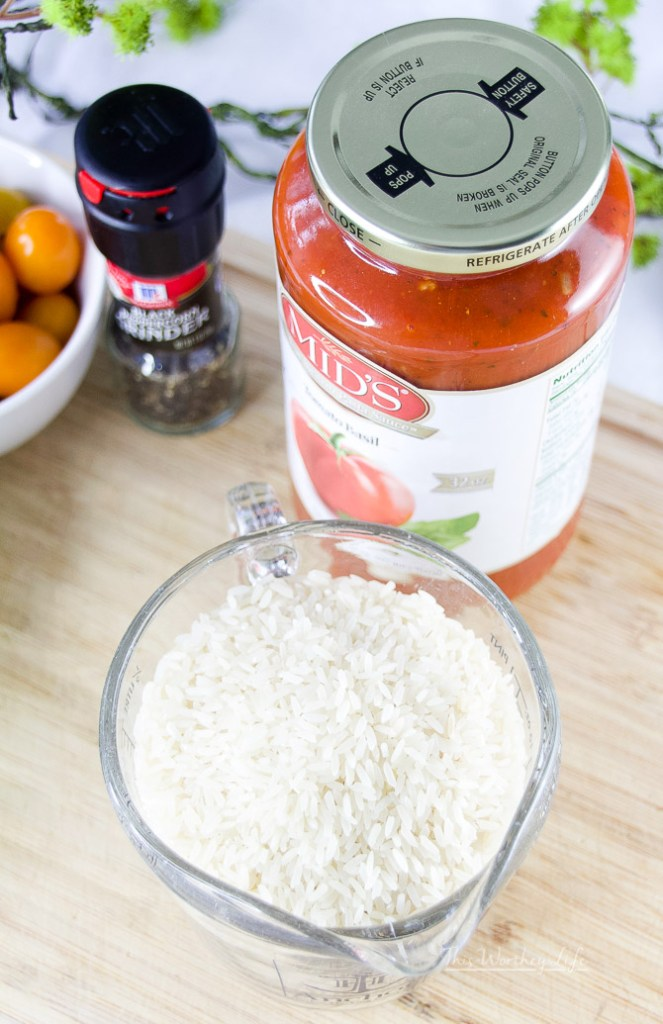 The Best Marinara Rice