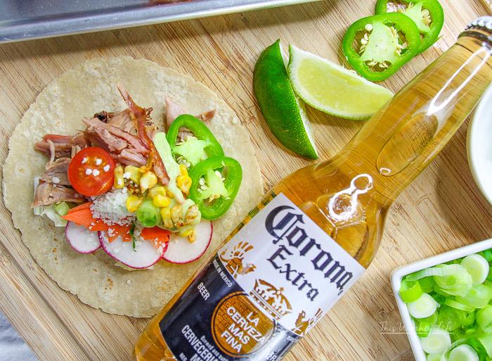 Tex Mex Baby Back Rib Tacos