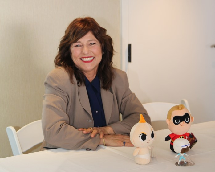 Incredibles 2 interview with Catherine and Bob