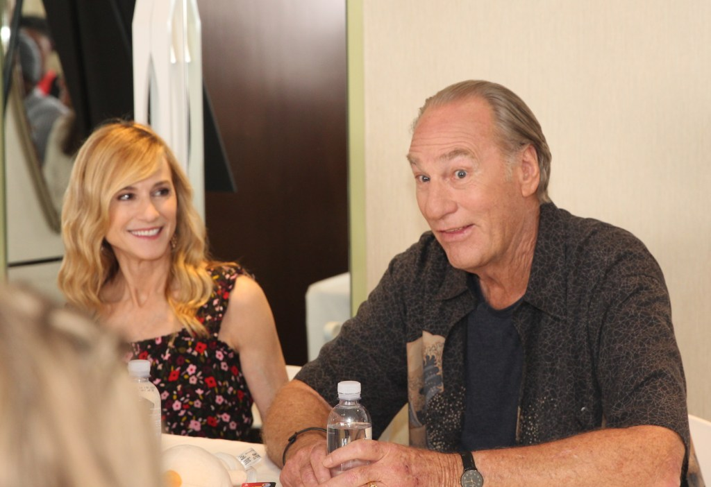 "During our Incredibles2 event last week in Los Angeles, myself and 24 bloggers had the opportunity to screen the movie (review coming soon), as well as interview many members of the Incredibles2 cast. Our first interview of the press junket was with Craig T. Nelson (voice of ""Bob Parr / Mr. Incredible"") & Holly Hunter (""Helen Parr / Elastigirl"")."