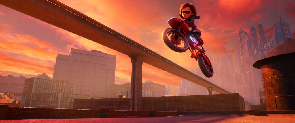 Female empowerment themes in Incredibles2