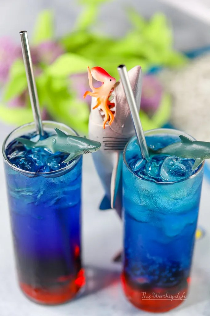 fun Shark Week Drink ideas