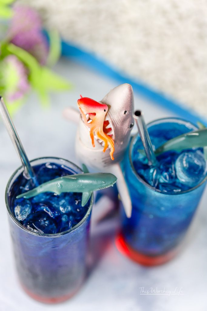 Mocktails for Shark Week