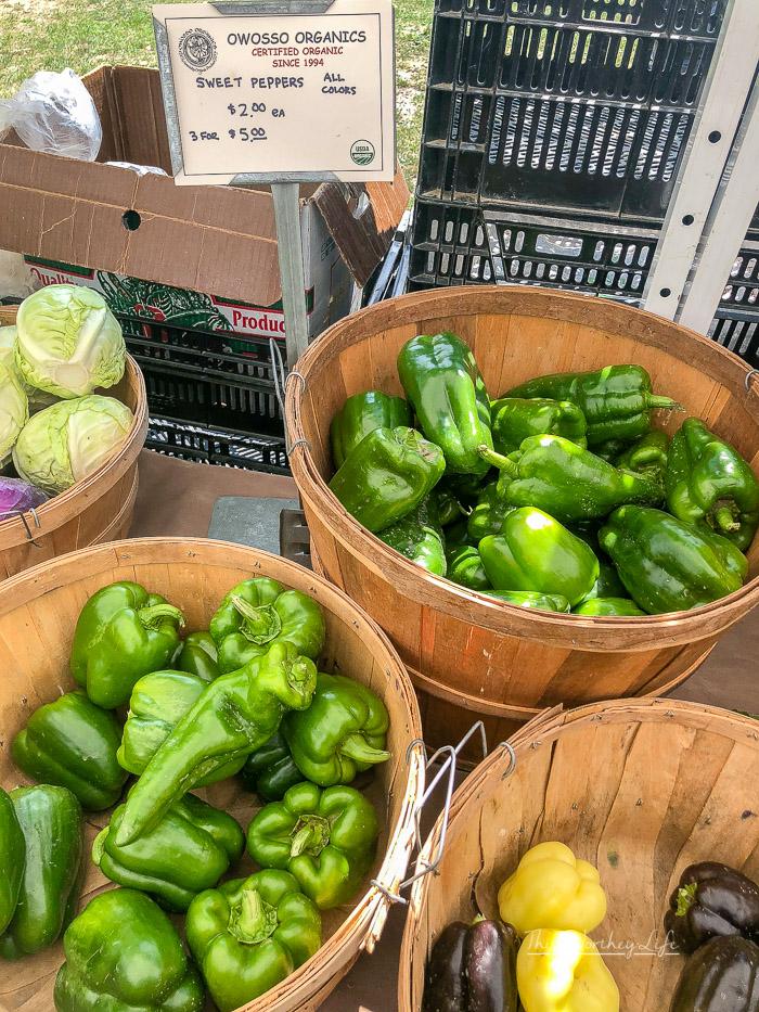 East Lansing Farmer's Market tips