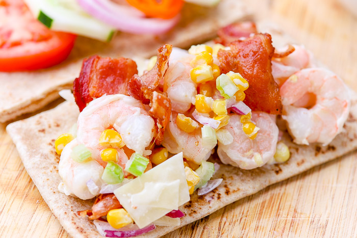 Po Boy Shrimp Salad
