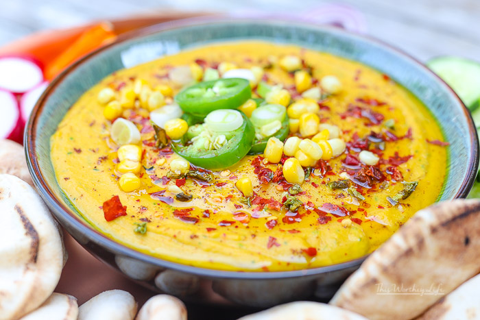 The Ultimate Spicy Hummus