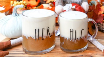 Adult Butterbeer Recipe + Kid-Friendly Butterbeer Version