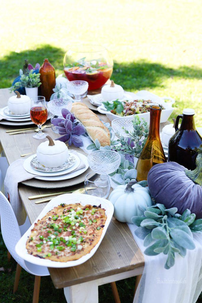 Fall Party Idea using Farmhouse decor