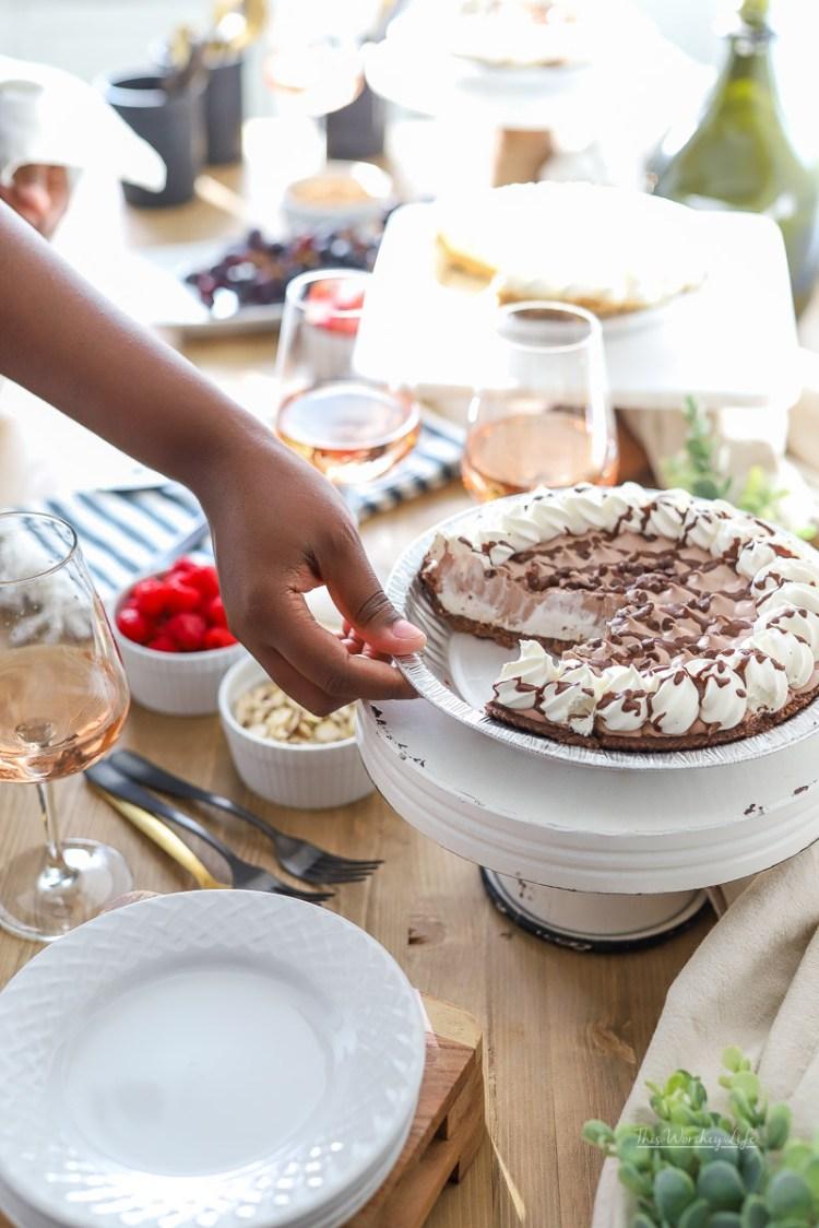Pie Bar Dessert