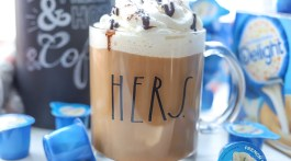 Easy recipe for using pumpkin spice in a latte