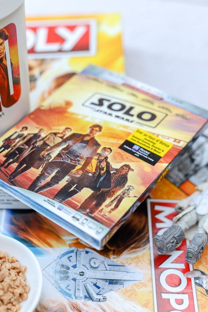 """""""Solo: A Star Wars Story"""" Digital and Blu-Ray Bonus Material includes:"""