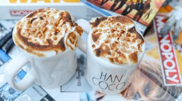 How to make hot coco with meringue