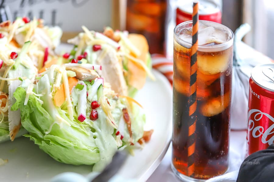 Loaded Rotisserie Chicken Wedge Salad