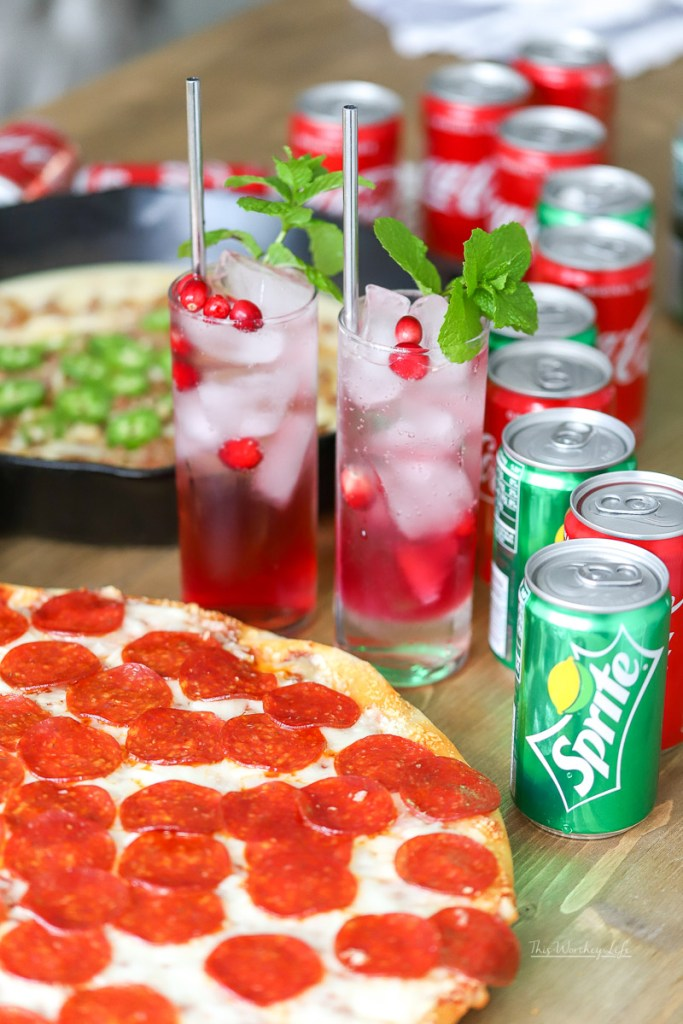 Recipe ideas paired with a Pizza Party