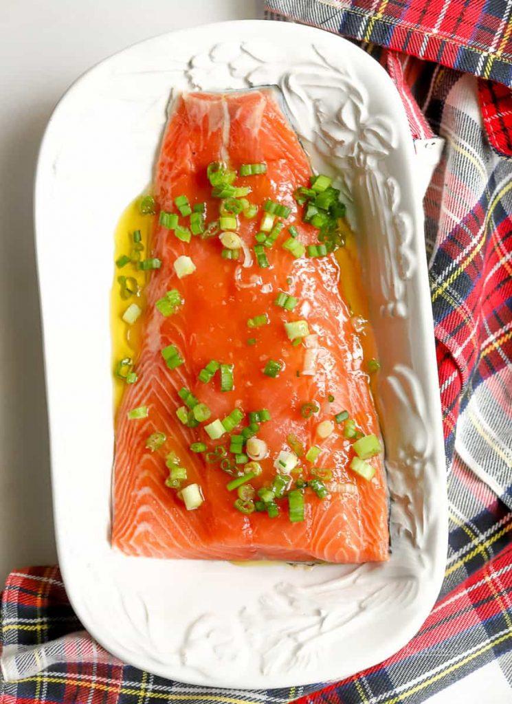 The Best Salmon Marinade