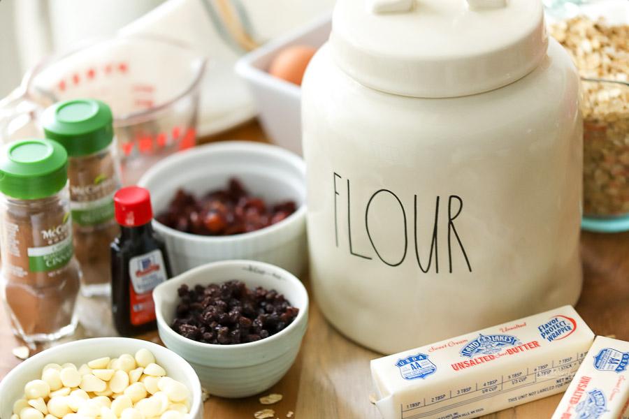 How to makeLoaded Oatmeal Raisin Cookies