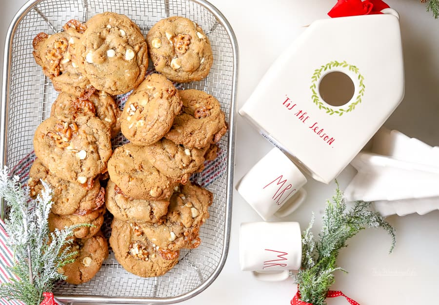How to make Pretzel Crunchers White Chocolate Chip Cookies