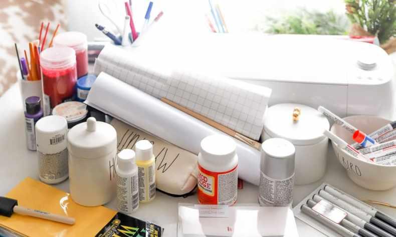 Organizing Craft area