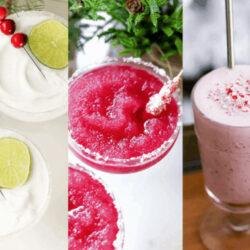 Boozy Holiday Cocktail ideas
