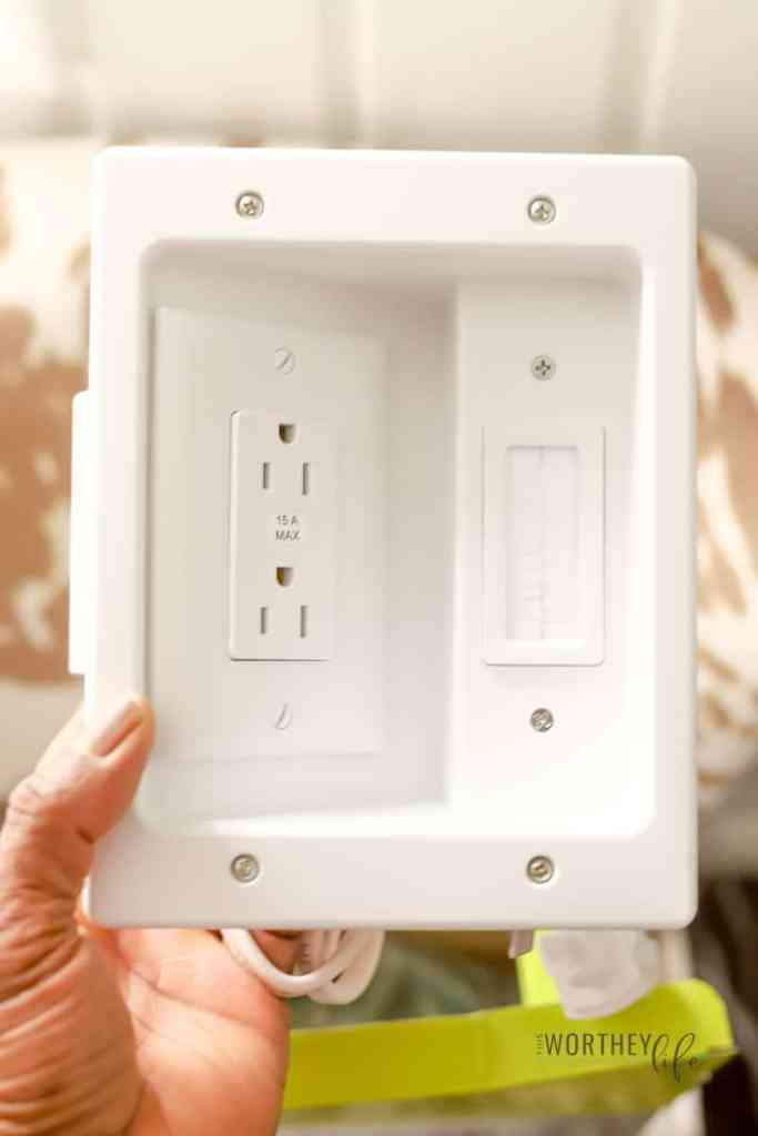 Easy ways to hide the ugly cable cords