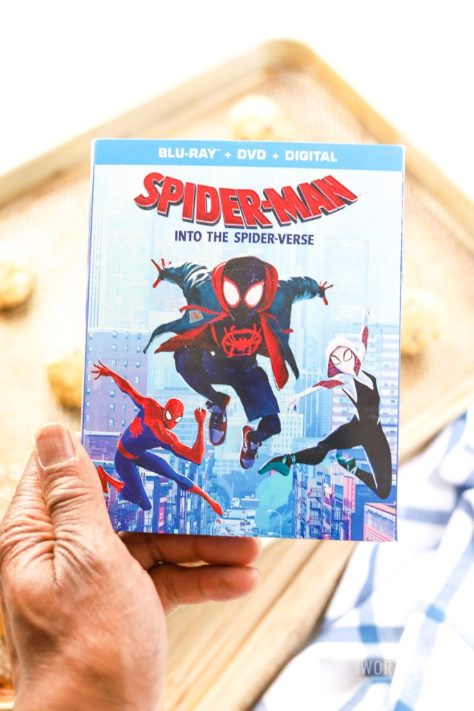 SPIDER-MAN: INTO THE SPIDER-VERSE movie available now on Digital, Blu-ray, DVD, and 4K Ultra HD.
