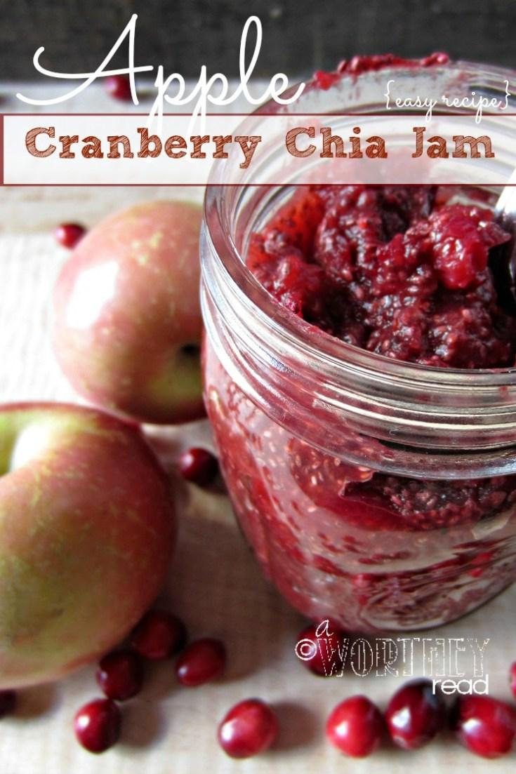 Apple Cranberry Chia Seed Ja