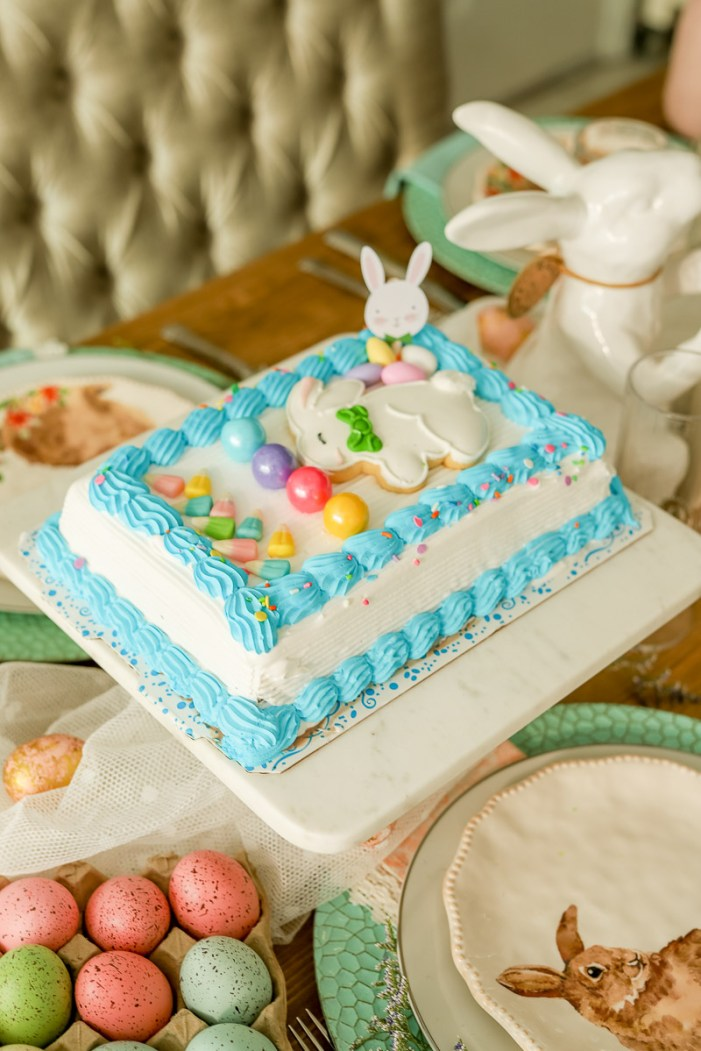 Here's how we hacked an ice cream cake for Easter