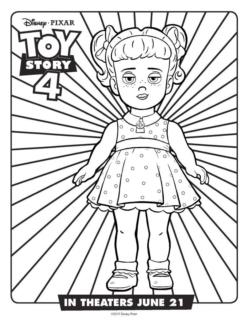 Toy Story FREE printable coloring sheets