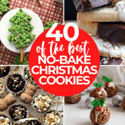 40+ of the Best No-Bake Christmas Cookies to Make