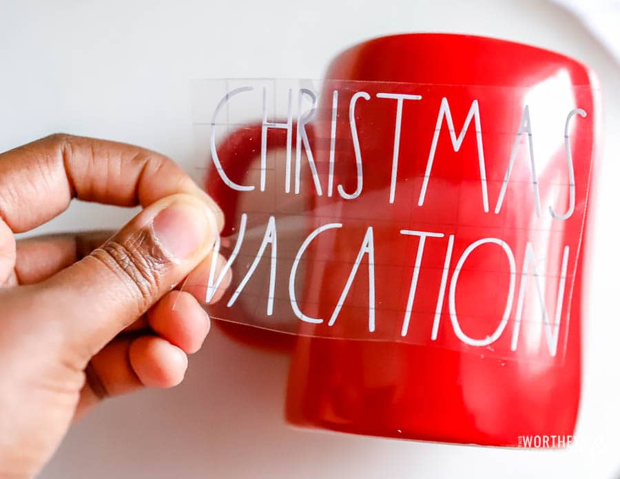 How to make a Christmas Vacation Mug
