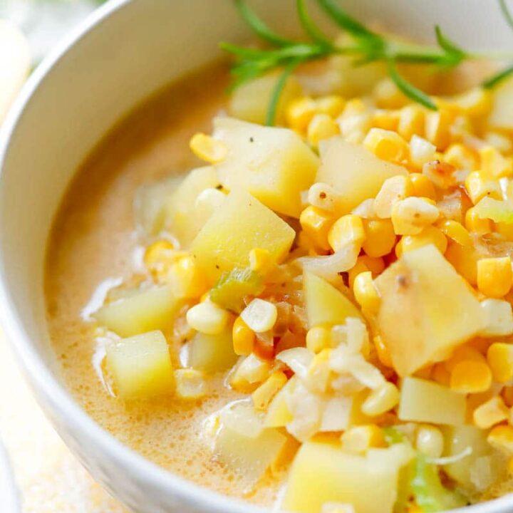 easy homemade vegan soup