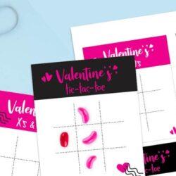 Valentine's Tic Tac Printable