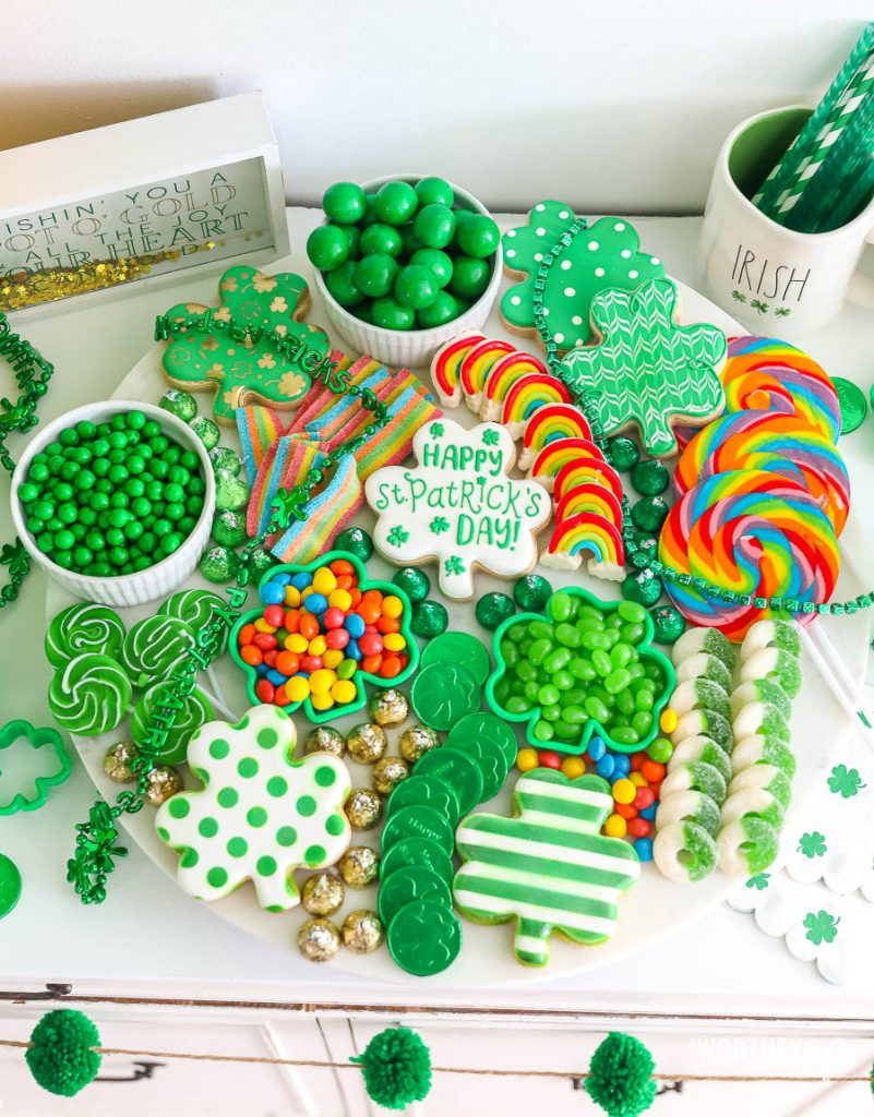 St. Patrick's Candy Board