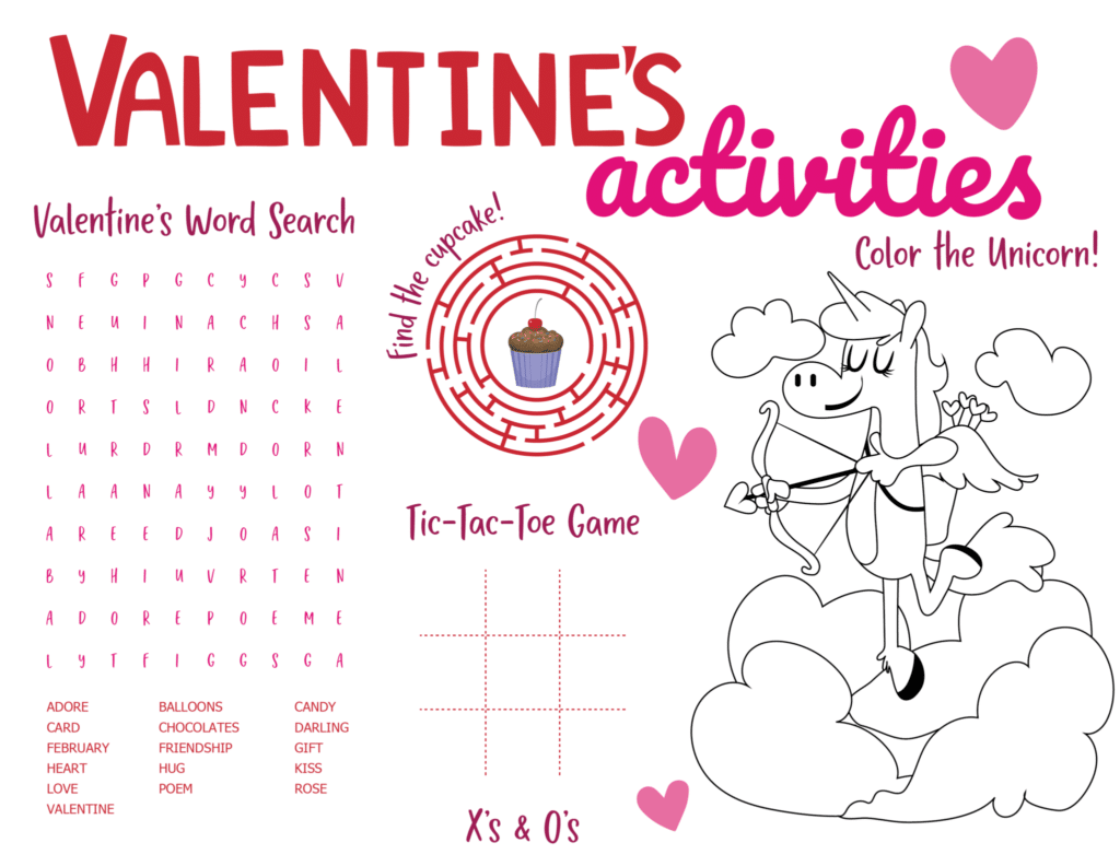 Valentines Day Worksheet Printables To Use