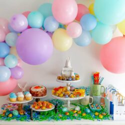 Easter Party Set-Up